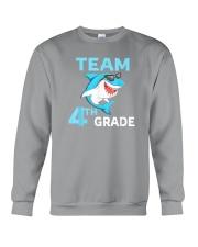Team 4th Grade Shark Crewneck Sweatshirt thumbnail
