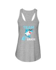 Team 4th Grade Shark Ladies Flowy Tank thumbnail