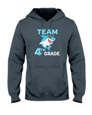 Team 4th Grade Shark Hooded Sweatshirt thumbnail
