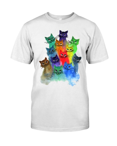 Cat Colorful