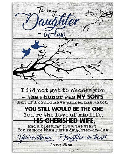 Poster To My Daughter-in-law