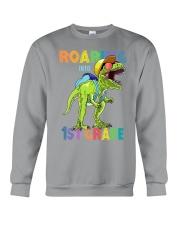 Roaring Into 1st Grade Crewneck Sweatshirt thumbnail