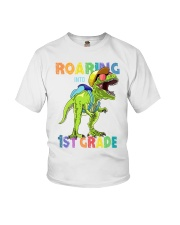 Roaring Into 1st Grade Youth T-Shirt front