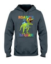 Roaring Into 1st Grade Hooded Sweatshirt thumbnail