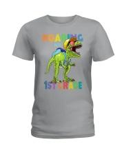 Roaring Into 1st Grade Ladies T-Shirt thumbnail
