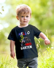 Hello Kindergarten Youth T-Shirt lifestyle-youth-tshirt-front-5