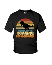 Roading Into Kindergarten Youth T-Shirt front