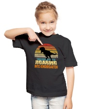 Roading Into Kindergarten Youth T-Shirt lifestyle-youth-tshirt-front-2