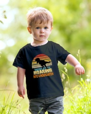 Roading Into Kindergarten Youth T-Shirt lifestyle-youth-tshirt-front-5