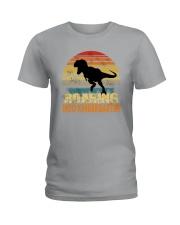Roading Into Kindergarten Ladies T-Shirt thumbnail