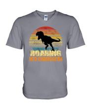 Roading Into Kindergarten V-Neck T-Shirt thumbnail