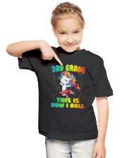 3rd Grade Unicorn  Roll  Youth T-Shirt lifestyle-youth-tshirt-front-2