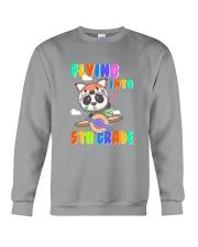 Flying Into 5th Grade Crewneck Sweatshirt thumbnail