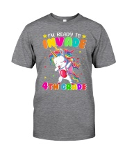 Unicorn Invade 4th Grade Classic T-Shirt thumbnail
