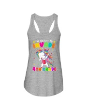 Unicorn Invade 4th Grade Ladies Flowy Tank thumbnail