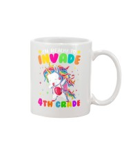 Unicorn Invade 4th Grade Mug thumbnail
