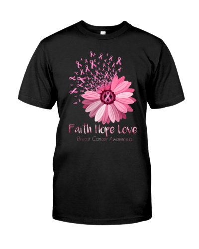 Faith Love Hope Flower 1599
