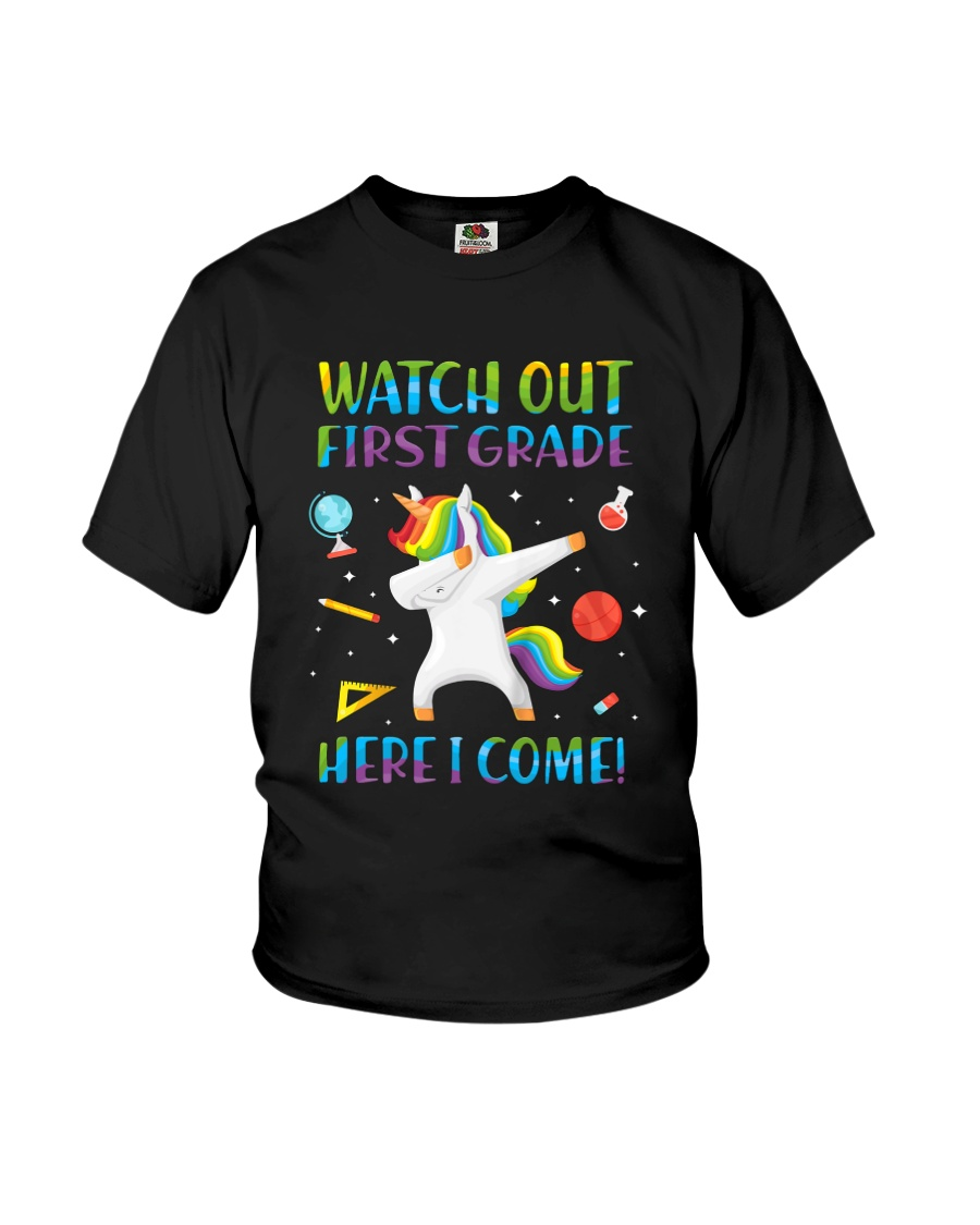 1st Grade Here I Come Youth T-Shirt