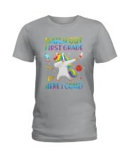 1st Grade Here I Come Ladies T-Shirt thumbnail
