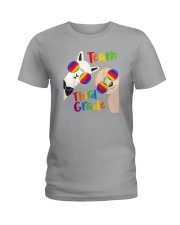 Team Third Grade Ladies T-Shirt thumbnail