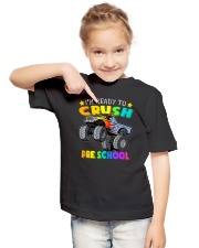 Monster Truck Ready To Crush Preschool Youth T-Shirt lifestyle-youth-tshirt-front-2