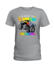 Monster Truck Ready To Crush Preschool Ladies T-Shirt thumbnail