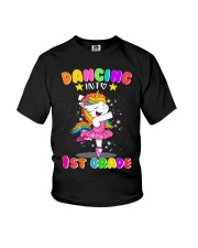 Dancing Into 1st Grade Youth T-Shirt front