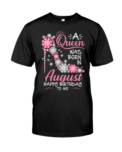 Queen Happy Birthday To Me Pink