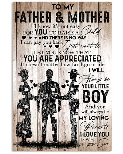 To My Father And Mother
