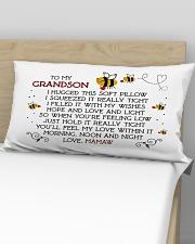 Mamaw - Grandson Rectangular Pillowcase aos-pillow-rectangular-front-lifestyle-02