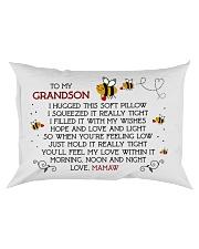 Mamaw - Grandson Rectangular Pillowcase front