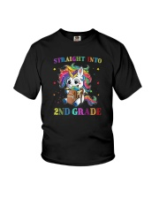 Straight Into 2nd Grade Youth T-Shirt front