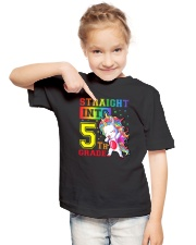 Straight Into 5th Grade Youth T-Shirt lifestyle-youth-tshirt-front-2