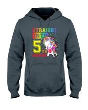 Straight Into 5th Grade Hooded Sweatshirt thumbnail