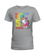 Straight Into 5th Grade Ladies T-Shirt thumbnail