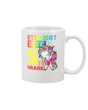 Straight Into 5th Grade Mug thumbnail