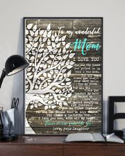 To my Wonderful Mom 11x17 Poster lifestyle-poster-2