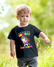 Unicorn Invade 3rd Grade Youth T-Shirt lifestyle-youth-tshirt-front-5