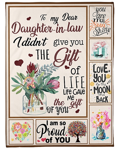 To My Dear Daughter In Law
