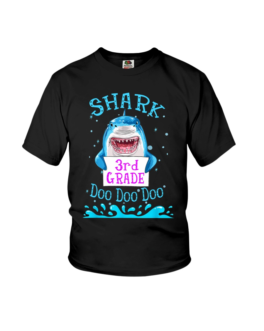 Shark 3rd Grade Doo Doo Doo - Tata Youth T-Shirt