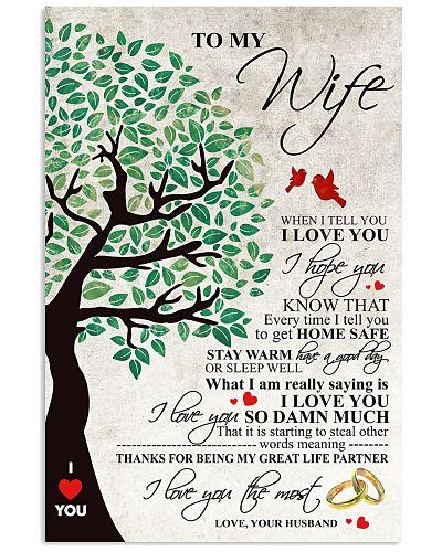 Blue Tree To My Wife
