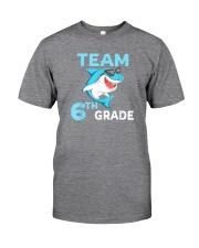 Team 6th Grade Shark Classic T-Shirt thumbnail