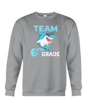Team 6th Grade Shark Crewneck Sweatshirt thumbnail