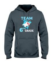 Team 6th Grade Shark Hooded Sweatshirt thumbnail