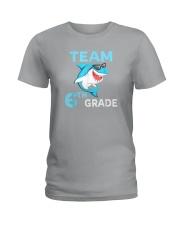 Team 6th Grade Shark Ladies T-Shirt thumbnail