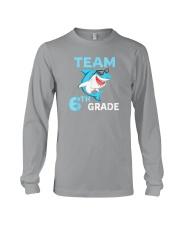 Team 6th Grade Shark Long Sleeve Tee thumbnail