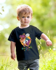 Roaring Into 4th Grade Youth T-Shirt lifestyle-youth-tshirt-front-5