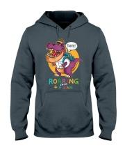Roaring Into 4th Grade Hooded Sweatshirt thumbnail