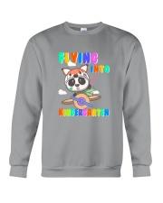 Flying Into Kindergarten  Crewneck Sweatshirt thumbnail