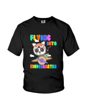 Flying Into Kindergarten  Youth T-Shirt front